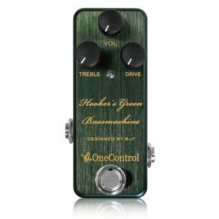 One Control Hookers Green Bassmachine Bass Distortion Pedal