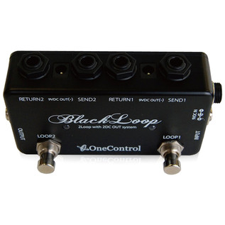 One Control Minimal Series Black Loop 2 Channel Switcher