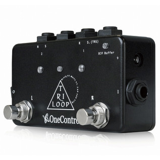 One Control Tri Loop Pedal Switcher