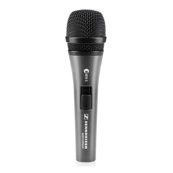 Sennheiser e835 S Dynamic Cardioid Vocal Microphone