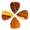 Timber Tones burmesiske Rosewood Guitar Pick, spillere Pack 4