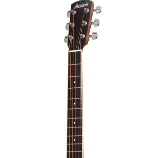 Larrivée OM-03Z Spruce/Zebrano Orchestra Acoustic Guitar, Neck & Headstock