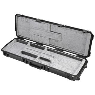 SKB Waterproof ATA Open Cavity Bass Guitar Case, with Wheels