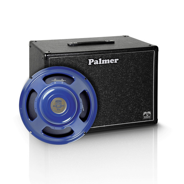 "Palmer 1 x 12"" Celestion Alnico Blue Speaker Cabinet, 8 Ohms"
