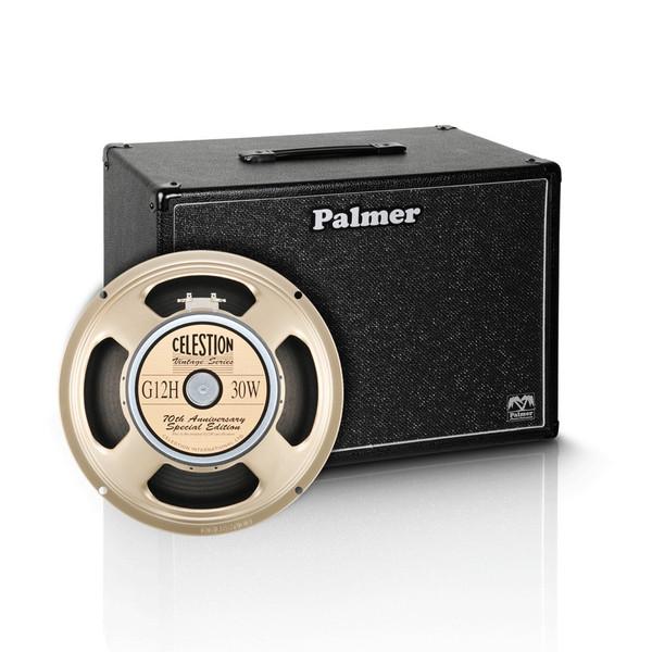 "Palmer 1 x 12"" Celestion G12H Anniversary Speaker Cabinet, 8 Ohms"