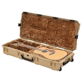 SKB Waterproof Dreadnought Acoustic Guitar Case (Guitar Not Included)