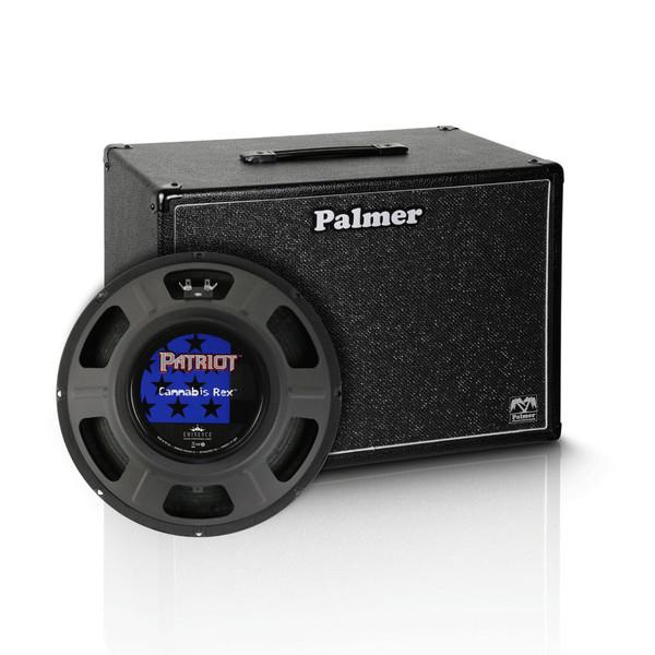 "Palmer 1 x 12"" Eminence Cannabis Rex Speaker Cabinet, 8 Ohms"