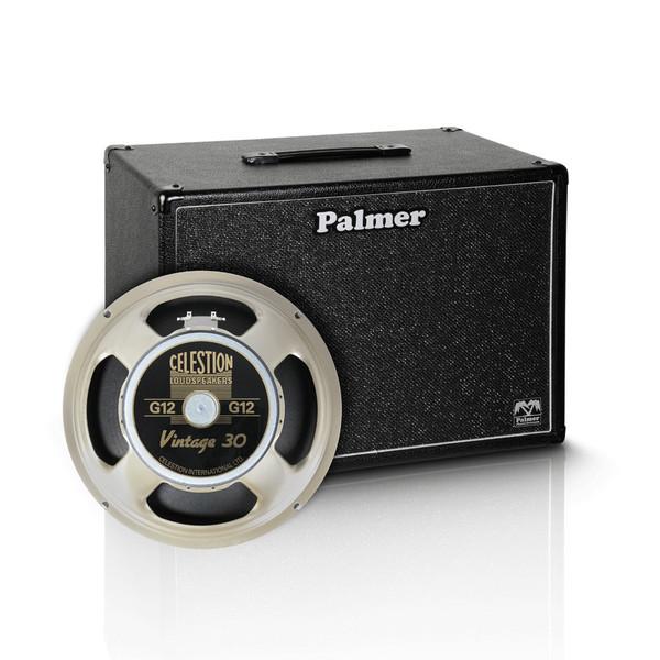 "Palmer 1 x 12"" Celestion Vintage 30 Speaker Cabinet, 8 Ohms"