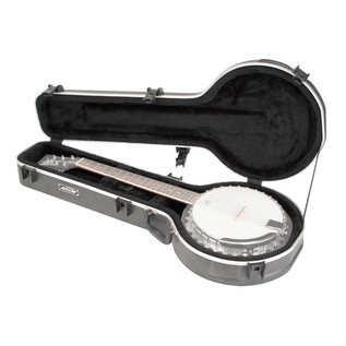 SKB Universal 6-string Banjo Case (Banjo Not Included)