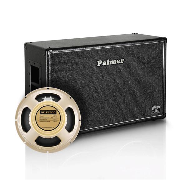 """Palmer 2 x 12"""" Celestion Creamback Speaker Cabinet, 8/16 Ohms"""