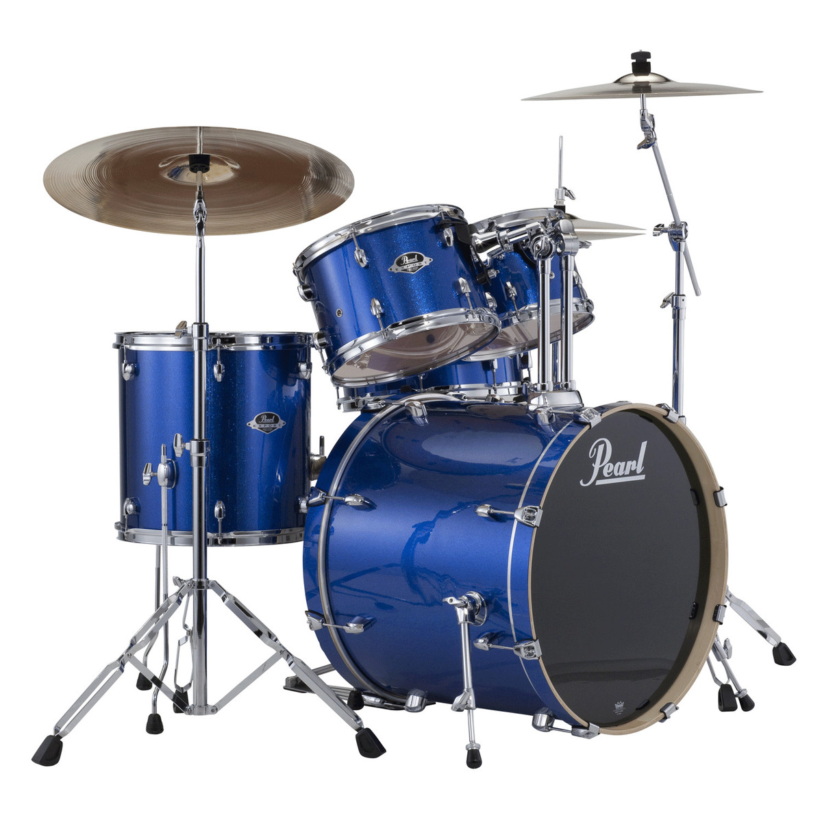 Pearl Export EXX 20 Fusion Drum Kit Blue Sparkle At