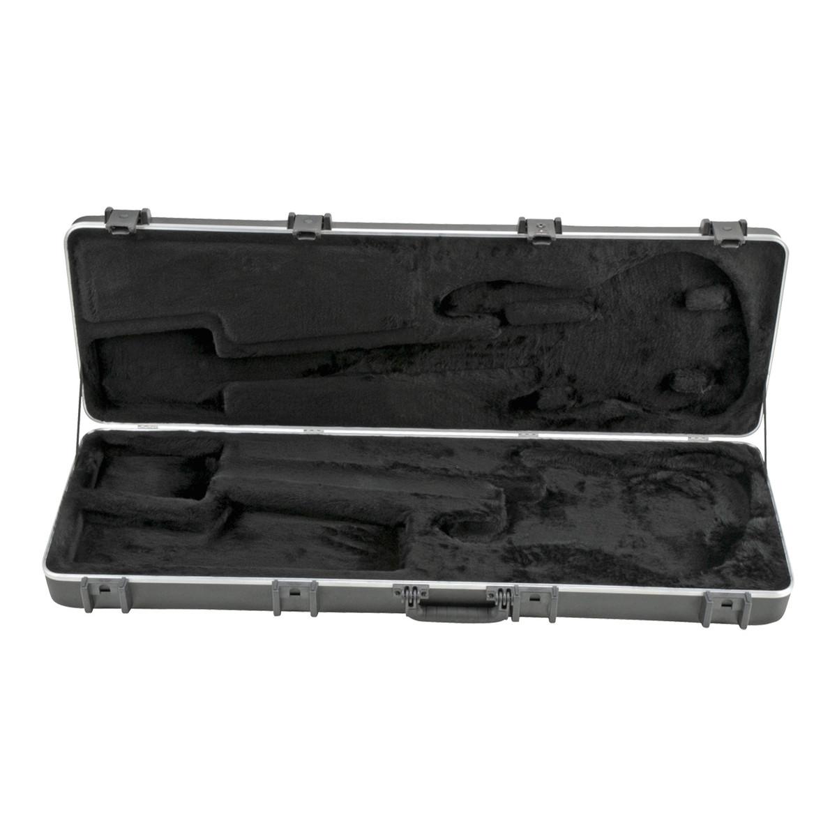 skb pro rectangular electric bass guitar case at gear4music. Black Bedroom Furniture Sets. Home Design Ideas