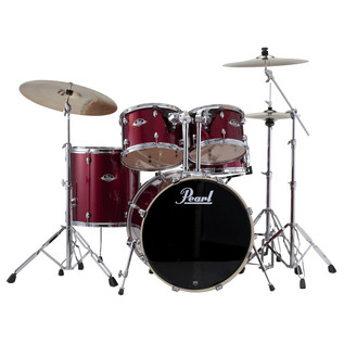 Pearl Export EXX 22'' American Fusion Drum Kit, Red Wine