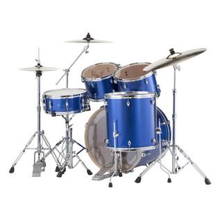 Pearl Export EXX 22'' Fusion Drum Kit, Blue Sparkle