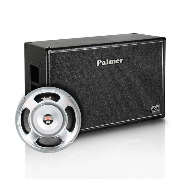 """Palmer 2 x 12"""" Celestion Seventy 80 Speaker Cabinet, 8/16 Ohms"""