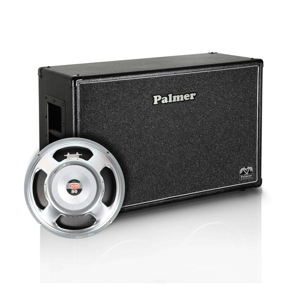 "Palmer 2 x 12"" Celestion Seventy 80 Speaker Cabinet, Open Back"