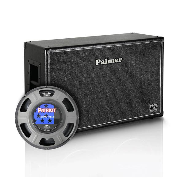 """Palmer 2 x 12"""" Eminence Texas Heat Speaker Cabinet, Open Back"""