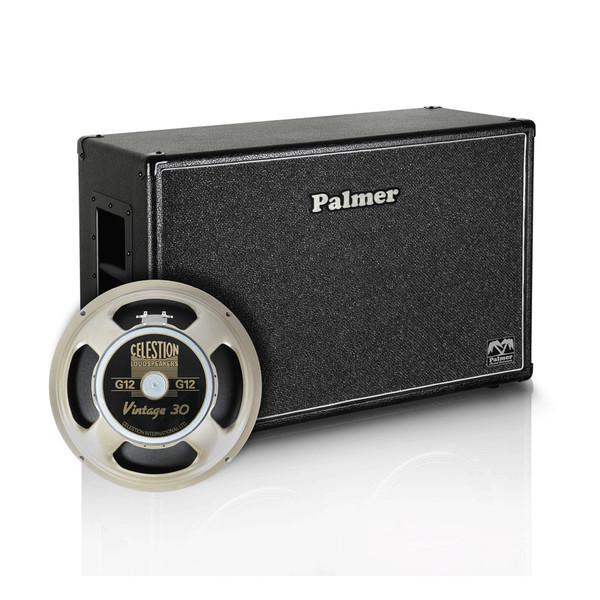 "Palmer 2 x 12"" Celestion Vintage 30 Speaker Cabinet, 8/16 Ohms"