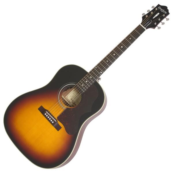 Epiphone AJ-45ME Masterbilt Electro Acoustic, Vintage Sunburst Satin