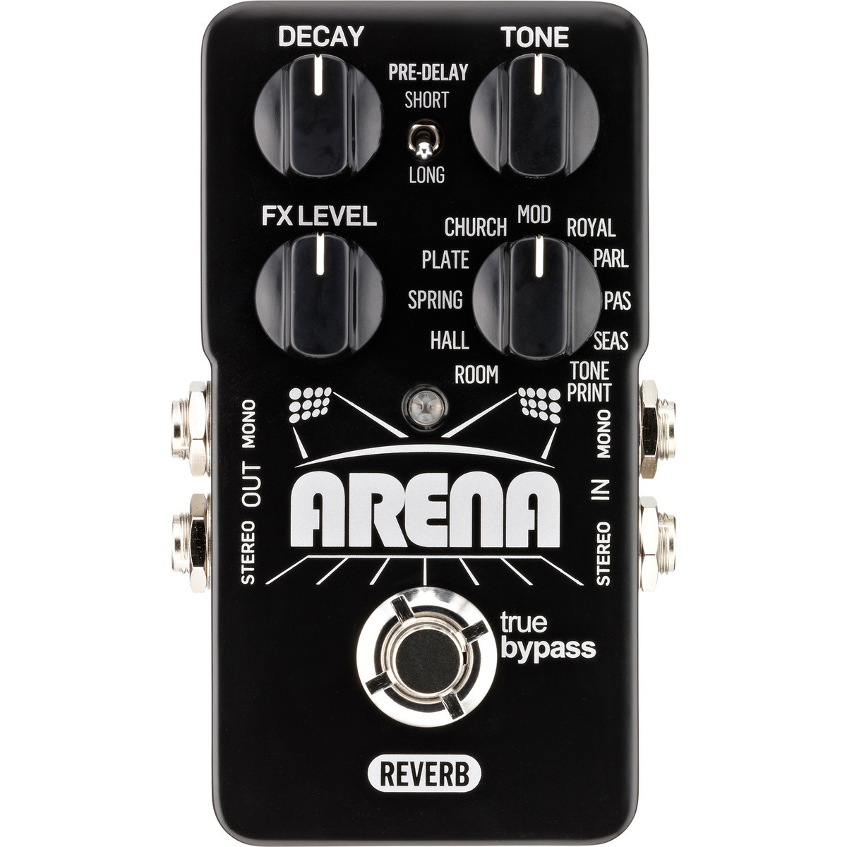 Click to view product details and reviews for Tc Electronic Arena Reverb Pedal.