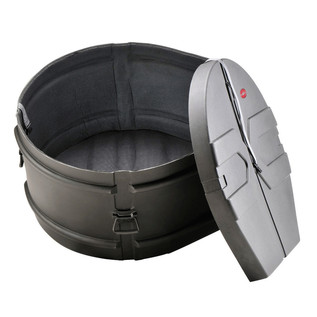 SKB Marching Bass Drum Case with Padded Interior