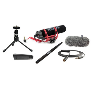 Rode VideoMic GO Complete DSLR Microphone Pack