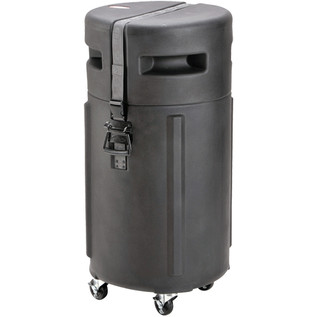 SKB Universal Conga Drum Case with Padded Interior and Wheels