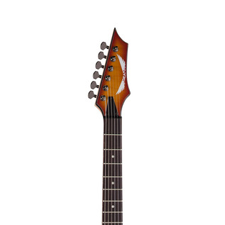 Dean Custom 350 Electric Guitar, Trans Amberburst
