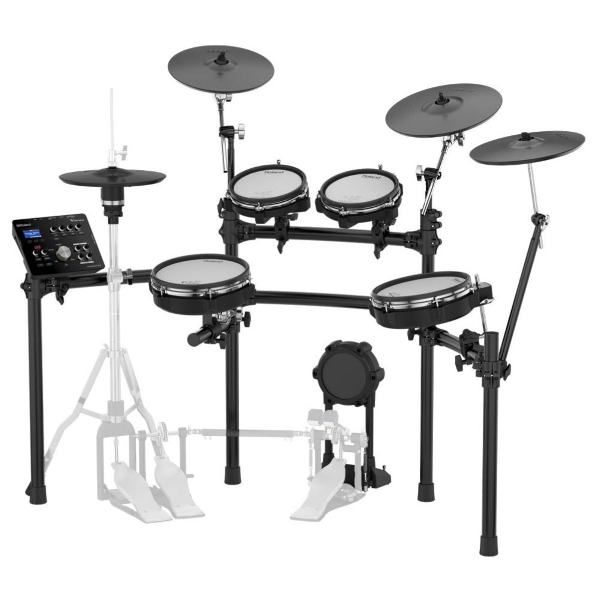 roland td 25kv v drums electronic drum kit at gear4music. Black Bedroom Furniture Sets. Home Design Ideas