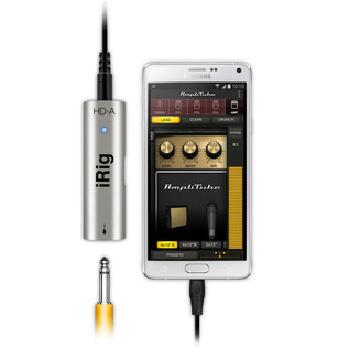 iRig HD-A Digital Guitar Interface for Android