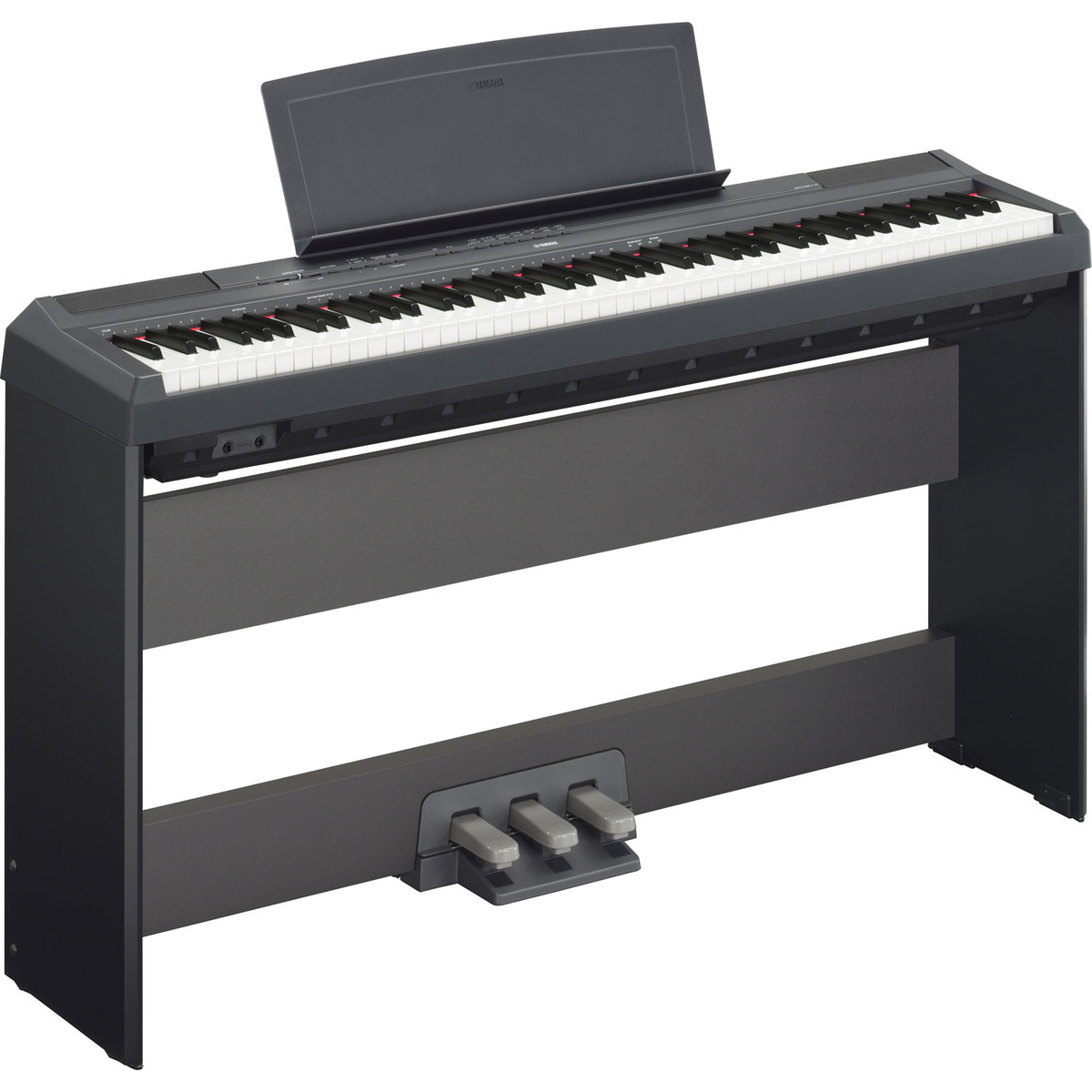 yamaha p115 piano num rique noir comme neuf gear4music. Black Bedroom Furniture Sets. Home Design Ideas