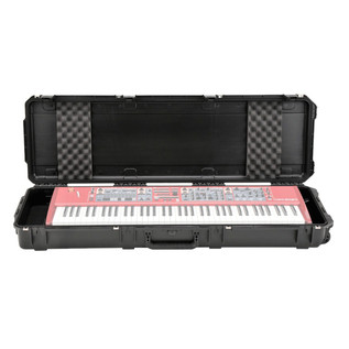 SKB Waterproof Case for 76-Key Keyboard with Wheels (Keyboard Not Included)