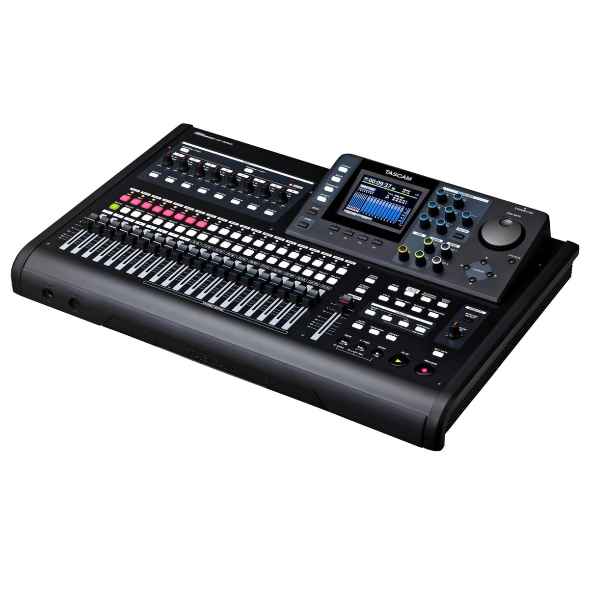 tascam dp 32sd digital multitrack recorder ex demo at gear4music. Black Bedroom Furniture Sets. Home Design Ideas
