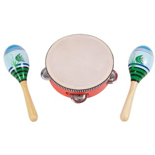 Performance Percussion PK15 Music Box, Tambourine and Maracas