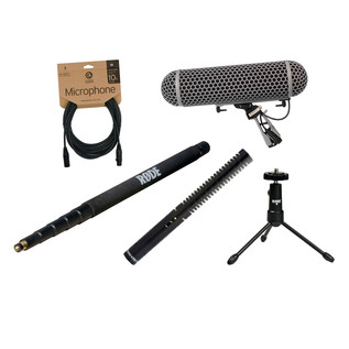 Rode NTG1 Broadcast Sound Recording Bundle