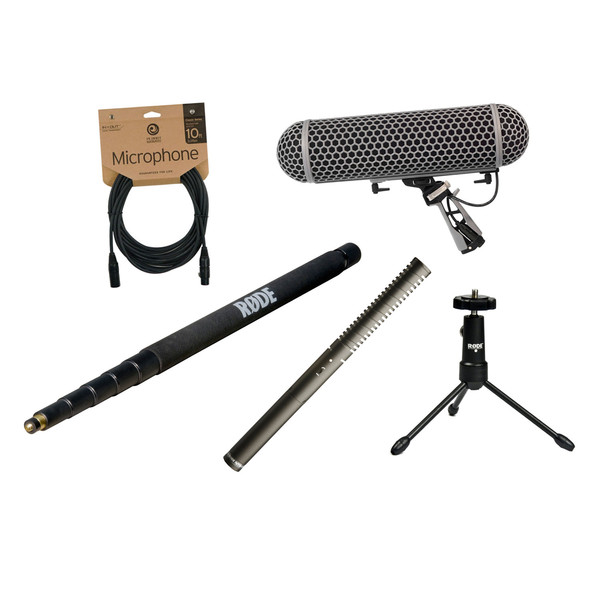 Rode NTG2 Broadcast Sound Recording Bundle