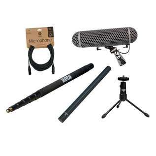 Rode NTG3 Broadcast Sound Recording Bundle