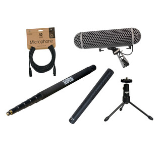 Rode NTG4 Broadcast Sound Recording Bundle