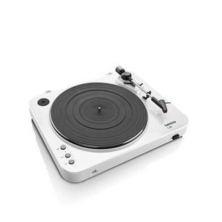 Lenco L-85 Turntable with USB Direct Recording (White)