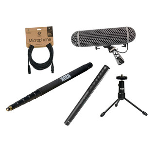 Rode NTG4+ Broadcast Sound Recording Bundle