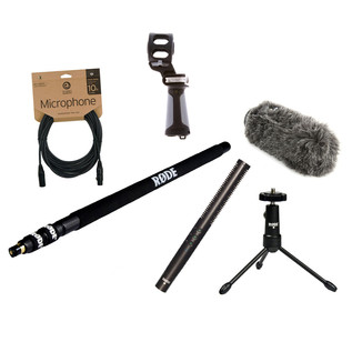 Rode NTG4 Location Recording Bundle