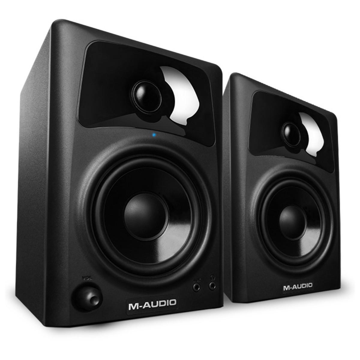 M-Audio AV42 Active Desktop Monitor Speakers, Pair