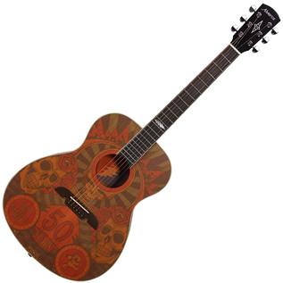 Alvarez Grateful Dead 50th Anniversary Acoustic Guitar, Montage