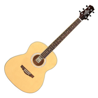 Ashton OM24 Acoustic Guitar, Natural Matte
