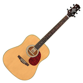 Ashton D24 Dreadnought Acoustic Guitar, Natural Matte