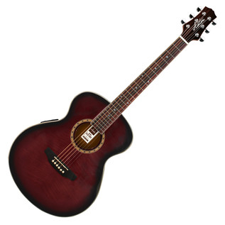 Ashton SL29 Acoustic Guitar, Wine Red Sunburst