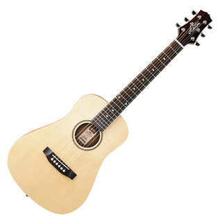 Ashton JOEYSOLIDEQ Electro Acoustic Guitar, Natural Matte