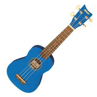 Ashton UKE160 Soprano Ukulele, Blue