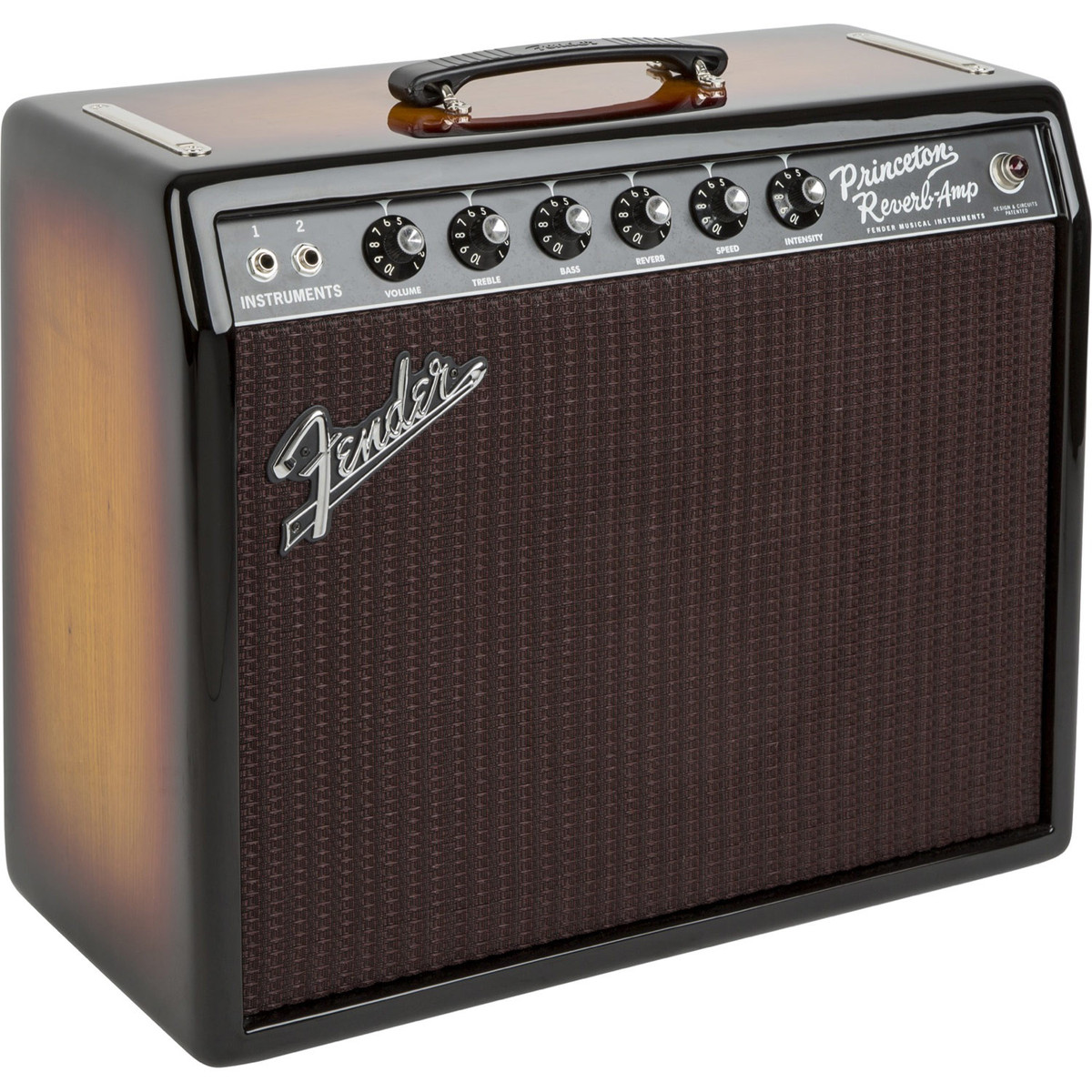 fender fsr 39 65 princeton reverb amp ash 3 tone sunburst at gear4music. Black Bedroom Furniture Sets. Home Design Ideas