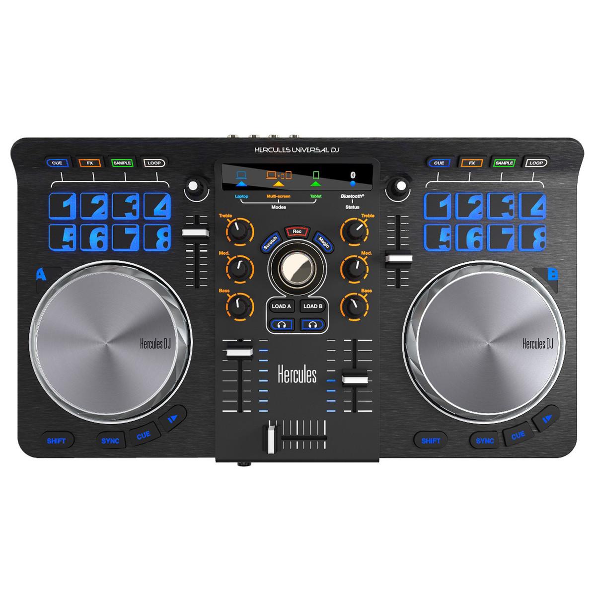 hercules universal dj controller at gear4music